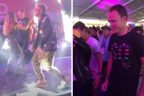Chris Froome bailando reguetón