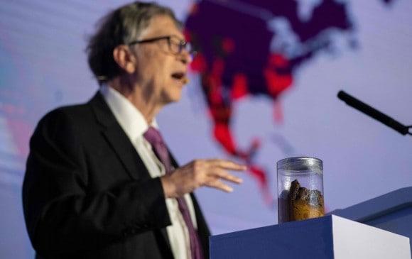 Bill Gates en un discurso