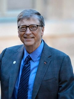 Bill Gates Saludando