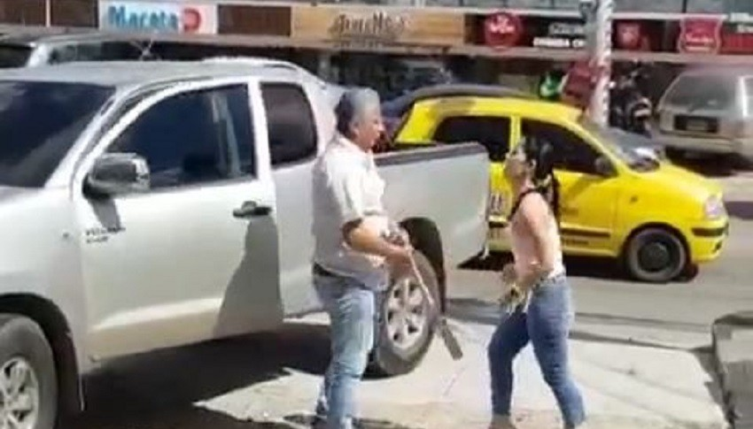 Agresión en Barranquilla