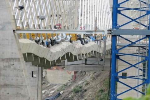 El puente Hisgaura se encogió