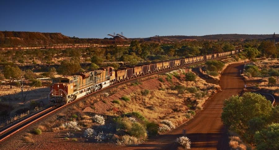 Tren de la compañía BHP