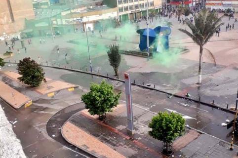 Disturbios en San Victorino