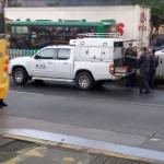 Amenaza de bomba en Transmilenio