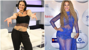 Niurka Marcos, cantante y bailarina cubana.