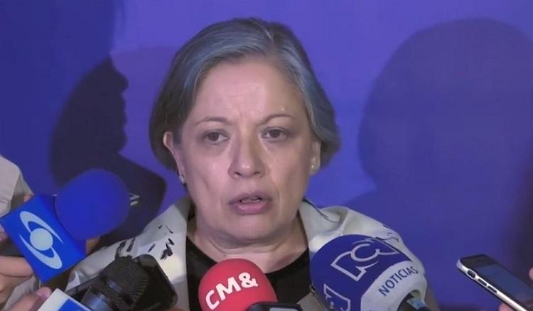 Vicefiscal general, María Paulina Riveros