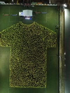 Camiseta humana del Atlético Bucaramanga