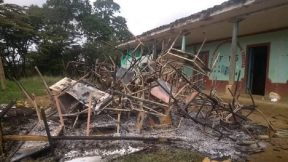 Escuela afectada en Cauca