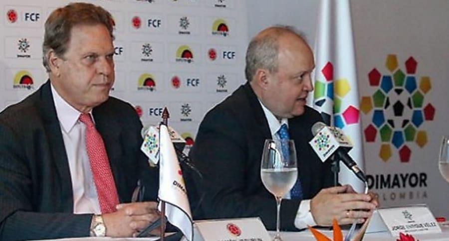 Ramón Jesurún y Jorge Enrique Vélez