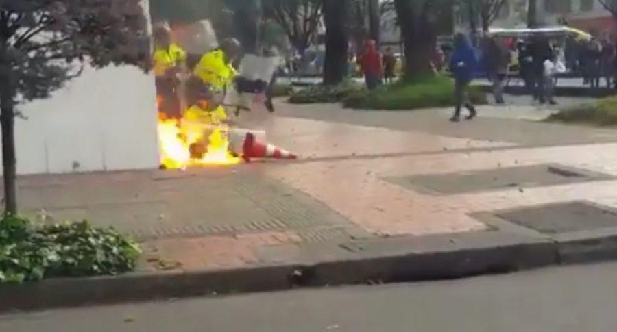 Ataque a policías