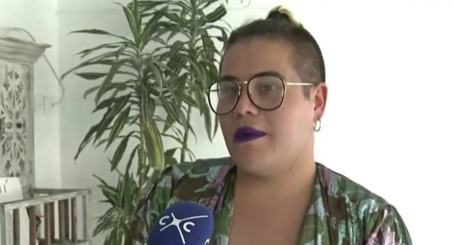 Juliana Salamanca, mujer trans.