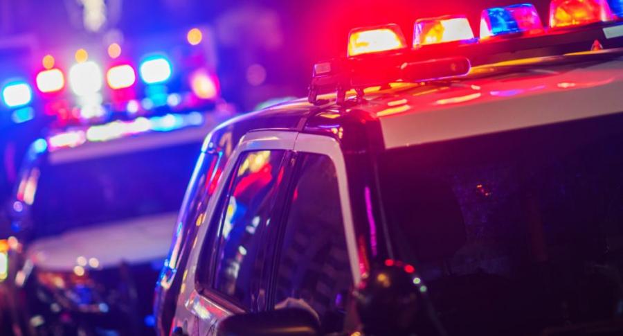Carro de policía en EE. UU.