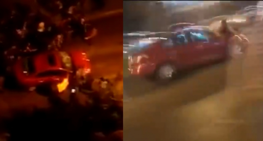 Atropellamiento masivo en Bogotá