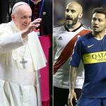Papa Francisco I y Boca Juniors vs. River Plate