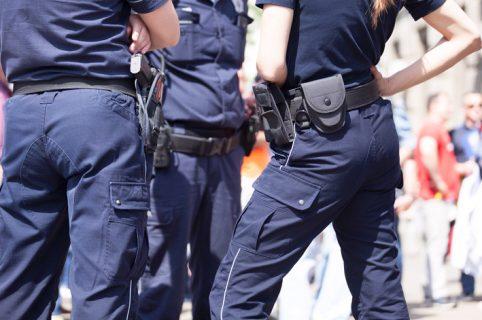 Pareja de policías