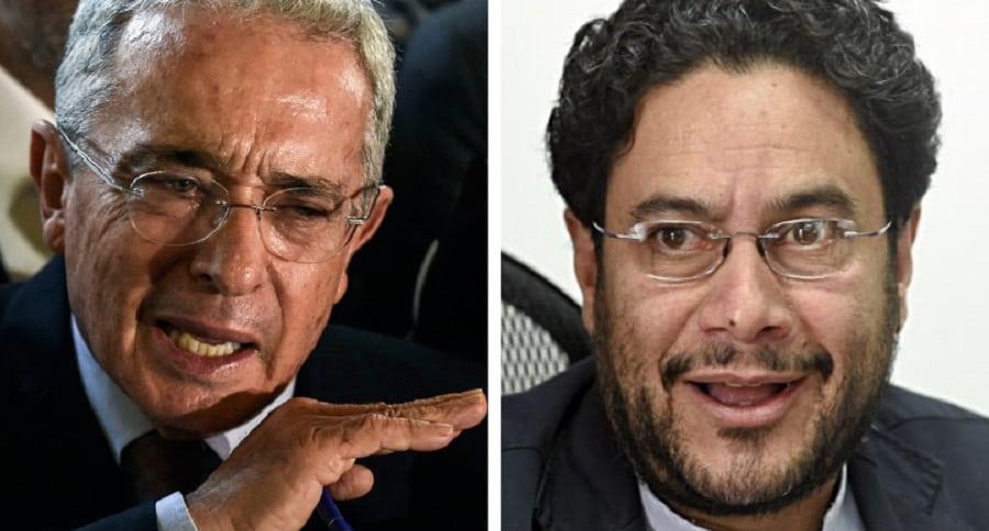 lvaro Uribe e Iván Cepeda
