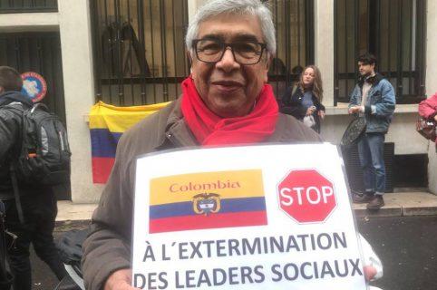 Colombiano en Francia