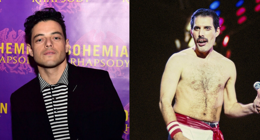 Rami Malek, y Freddie Mercury
