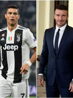 Cristiano Ronaldo y David Beckham