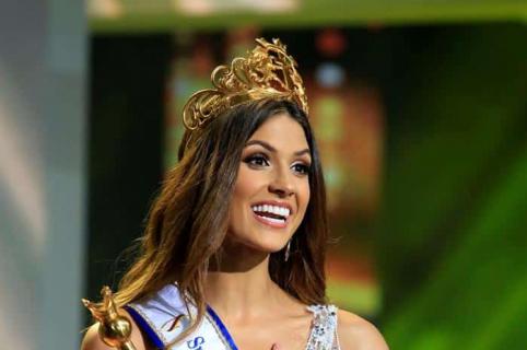 Gabriela Tafur, señorita Colombia.