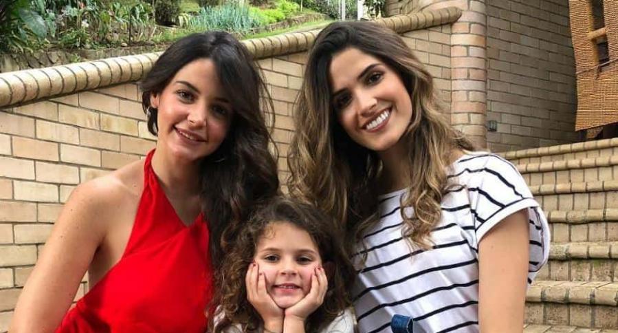 'Maleja' Restrepo, su hija 'Lupe' y la Señorita Colombia Gabriela Tafur