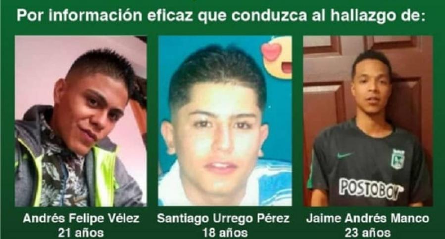 Jóvenes desaparecidos en Comuna 13 de Medellín