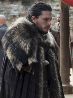 Kit Harington (Jon Snow) y Emilia Clarke (Daenerys Targaryen) en 'Game  of Thrones'