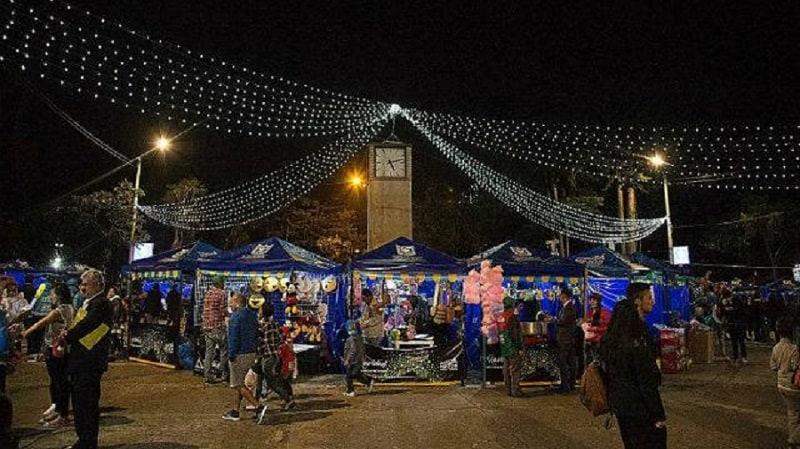 Feria Navideña en Bogotá