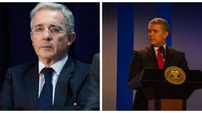 Pelea entre Uribe y Duque