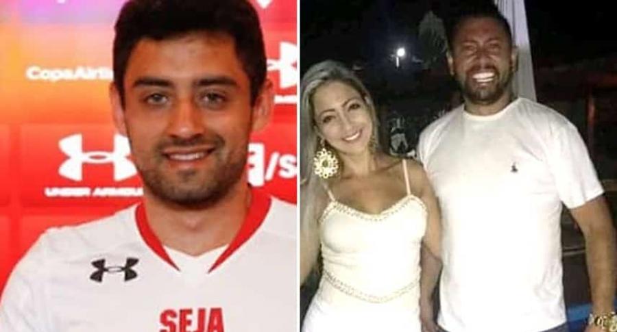 Daniel Correa [futbolista]; Cristina Brittes y su esposo Edison Brittes