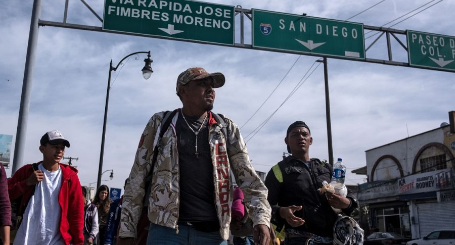 Los migrantes centroamericanos hacia Estados Unidos