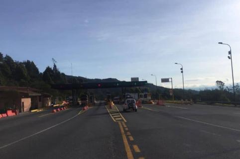 Peaje vía Bogotá-Villavicencio