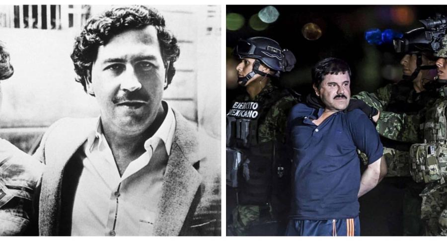 Pablo Escobar vs El Chapo Guzman.