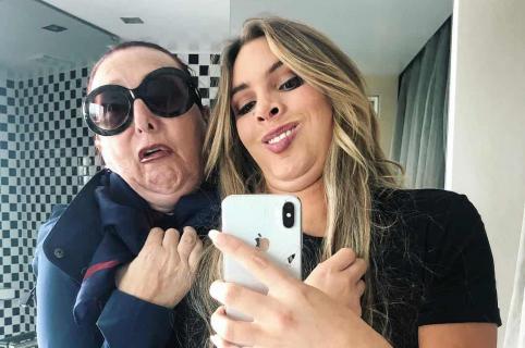 Lele Pons y su mamá
