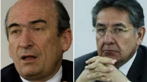 Jorge Pizano y Néstor Humberto Martínez