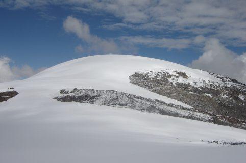 Vista del nevado Santa Isabel