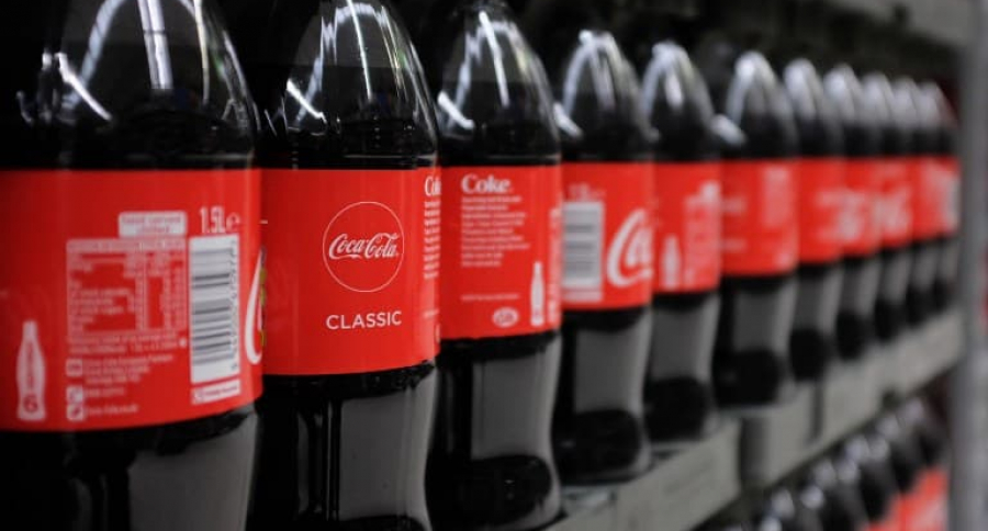 Botellas de Coca Cola