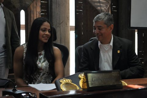 Julieth Dayana Cordero Hernández, Campeona Mundial de boxeo de Peso Gallo.