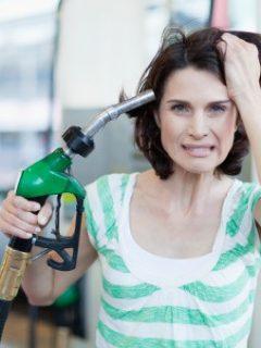 Precio de la gasolina.