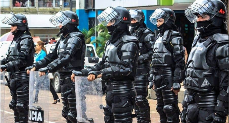 Esmad de la Policía
