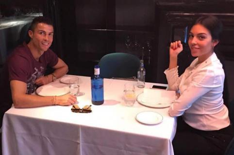 Cristiano Ronaldo y su novia
