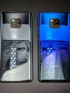 ¿Un descuido? Estas son las primeras imágenes del Huawei Mate 30 Pro