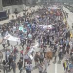 Marchas de estudiantes