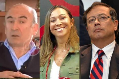 Jorge Enrique Pizano, Darcy Quinn y Gustavo Petro