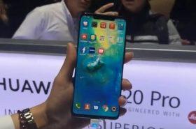 Esta sería la (¿novedosa?) pantalla que tendría el Huawei Mate 30 Pro