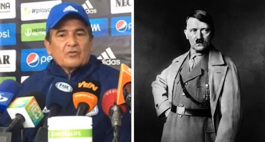 Jorge Luis Pinto y Adolf Hitler