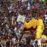 Estudiantes marcharon este 15 de noviembre por la educación