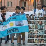Familiares de los marinos desparecidos
