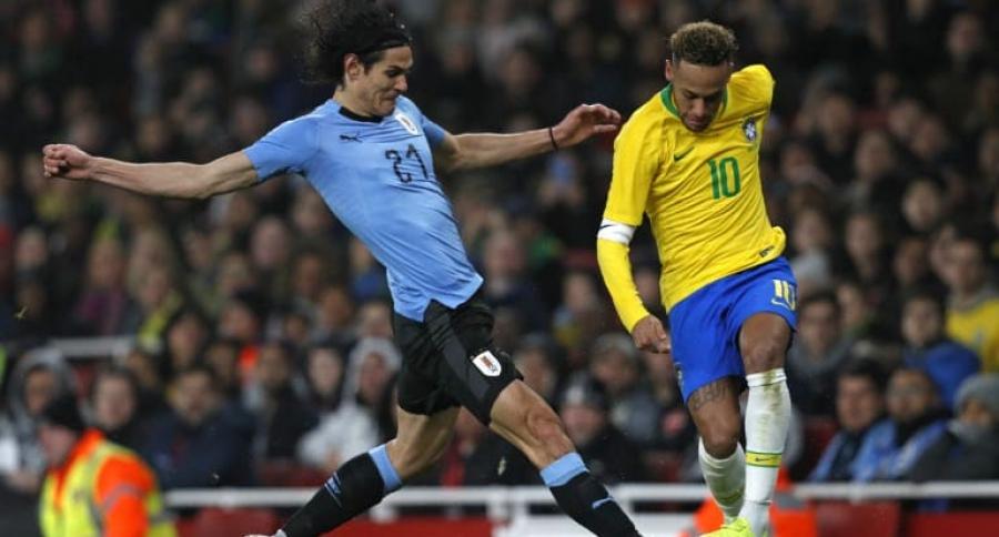Édinson Cavani y Neymar da Silva