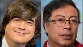 Jaime Bayly y Gustavo Petro